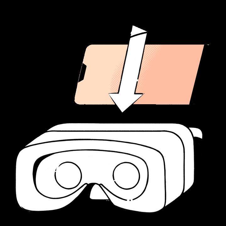 a1ef784c798 Läbi VR-prillide vaadatakse nutiseadmeekraanilt 360-kraadist videot, tekib  3D mulje. Saab vaadata virtuaalses maailmas enda ümber, kuid digitaalse  maailmaga ...
